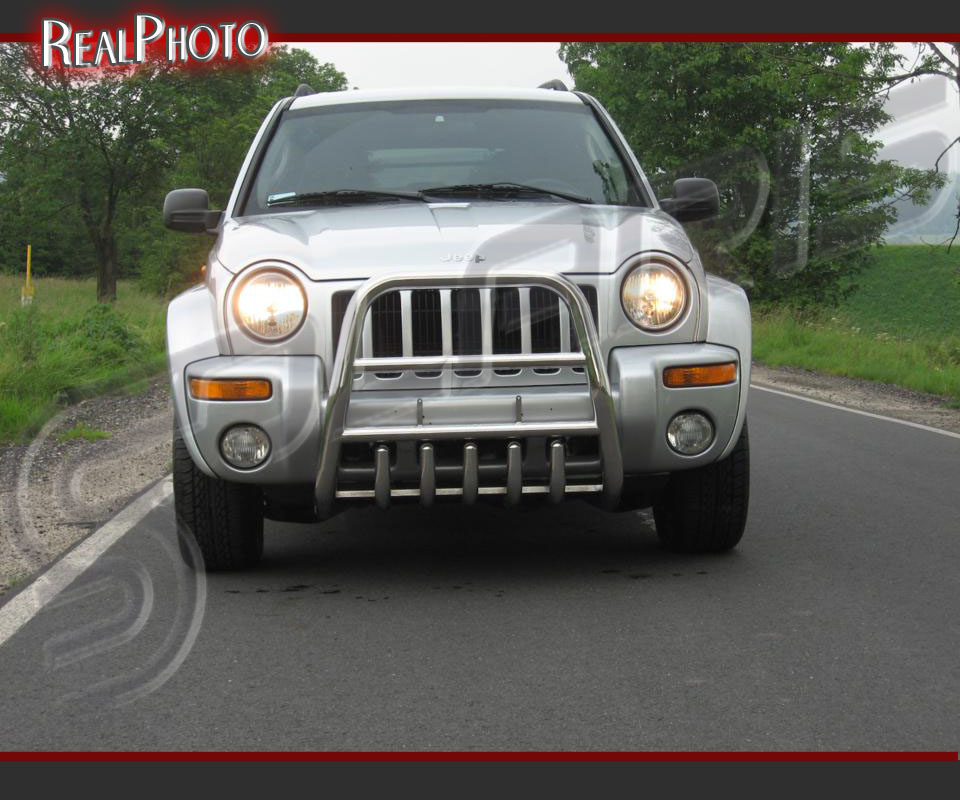 Liberty Jeeps: JEEP LIBERTY / CHEROKEE 2002-2004 BULL BAR, NUDGE BAR