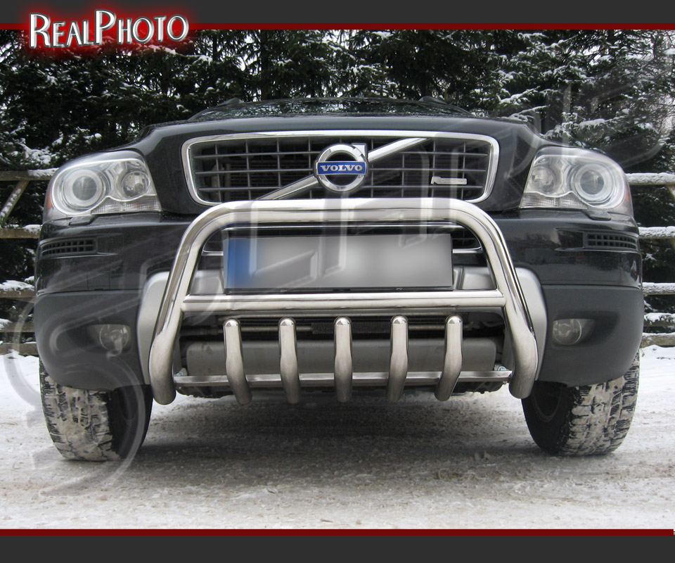 VOLVO XC90 2007-2013 BULL BAR, NUDGE BAR, A BAR + GRATIS